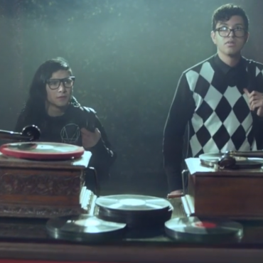 """Skrillex & Alvin Risk enter a dream world in new vid for """"Try It Out"""""""