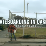 skateboarding in oakland