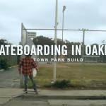 skateboarding in oakland
